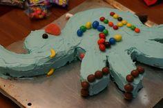freaking adorable, i <3 elephants; Elephant Cake Tutorial