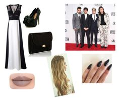 """""""AMAs with the boys"""" by mackmck on Polyvore featuring BCBGMAXAZRIA, Mansur Gavriel and Jeffree Star"""
