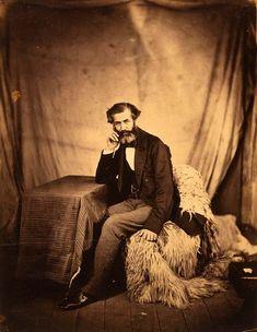 "Crimean War Photographs by Roger Fenton, 1855 - ""Sir Henry Rawlinson"", Sanitary Commissioner"