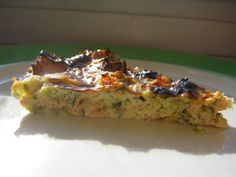 Salmon, Leek and Dill (Crustless) Quiche