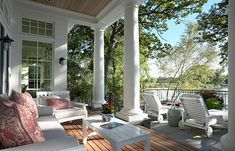 Brought to you by Tickled Pink Homes http://tickledpinkhomes.com  Three Easy Porch Pick-Me-Ups