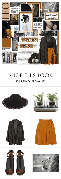 """"""" I'll see what tomorrow brings. """" by centurythe ❤ liked on Polyvore featuring Dollhouse, Nude, Bruce II, Isabel Marant, Givenchy, Balmain, fashionhoroscope and stylehoroscope"""