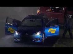 ▶ NASCAR Sprint Cup Daytona Sprint Unlimited Pace Car Catches Fire - YouTube