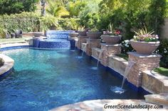 Swimming Pool Remodel and Refinishing, Outdoor Kitchen Remodel, and new Outdoor Fireplace - CLICK PIN for Various Patio Ideas, Patio Furniture and other Perfect Patio Inspiration. Small Backyard Pools, Backyard Pool Landscaping, Backyard Pool Designs, Swimming Pools Backyard, Lap Pools, Indoor Pools, Small Pools, Landscaping Tips, Patio Design