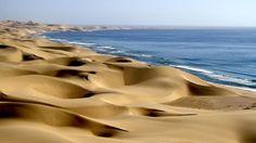 The desert meets the ocean # Namibia