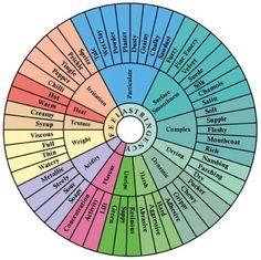 Wine Mouthfeel Wheel