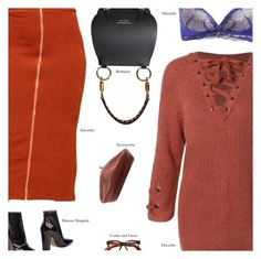 """""""DRESSLILY 17"""" by amberelb ❤ liked on Polyvore featuring Maison Margiela, Cutler and Gross, Burberry and Accessorize"""