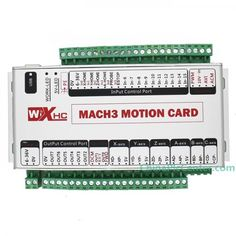 Mach3 USB 4 Axis CNC Motion Control Card Breakout Board 400KHz Support Windows 7 Upgrade