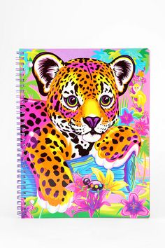 Lisa Frank Limited Edition Vintage Spiral Notebook  vintage!!! I use to own this!!