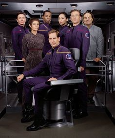 ~ Star Trek: Enterprise. By far, one of my favorite series of which I enjoyed thoroughly played by the cast. ~