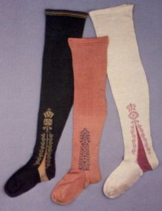 Colonial Williamsburg, Clocked #stockings! @Melissa Squires Squires Goodrich Williamsburg