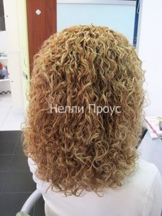tighter curl in this very full spiral perm