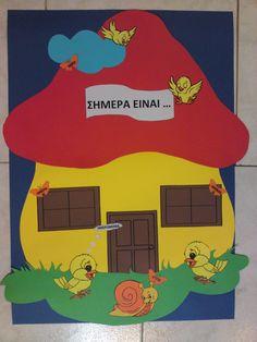 New Embroidery Designs, Nursery School, Family Guy, Seasons, Activities, Day, Blog, Fictional Characters, School Doors