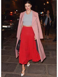 ミランダ・カー(Miranda Kerr)の私服