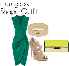 """Hourglass Shape Outfit"" by tanyfashionista on Polyvore"