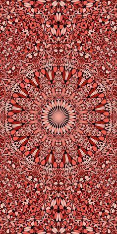 Aztec Phone Wallpaper, Rainbow Wallpaper, Mandala Pattern, Mandala Design, Mandala Art, Triangle Background, Background Patterns, Yoga Background, Halftone Pattern