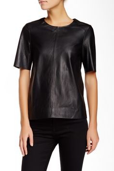 Love this Leather Tee