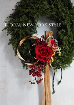 japanese new yearsスタイルのある暮らし It's FLORAL NEW YORK Style…