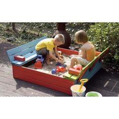 Zandbakken voor Kinderen   WoodVision Zandbak - Kinderzandbak Tom – JouwSpeeltuin Sand Pit, Outdoor Play, Little People, Summer Fun, Playground, Toy Chest, Storage Chest, Toddler Bed, Toms