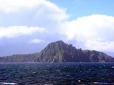 Desde el pasaje de Drake se observa el extremo norte de Cabo de Hornos, Chile. XII Región de Magallanes y la Antártica Chilena.   https://es.wikipedia.org/wiki/Pasaje_de_Drake