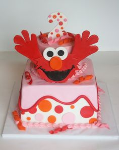 And Everything Sweet...really adorable cakes