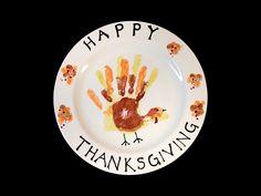 Thanksgiving handprint
