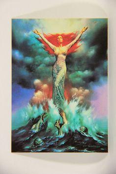 L010262 Boris Vallejo 1991 Card / The Bride - 1981 - Card #65 / ARTWORK