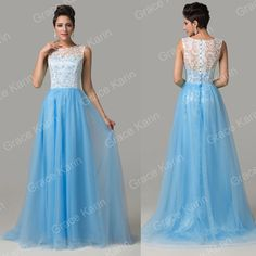 Lace Vintage Evening Bridesmaid Dresses Long Party Prom Cocktail Homecoming Gown | eBay