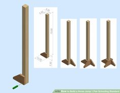 homemade horse jumps - Google Search