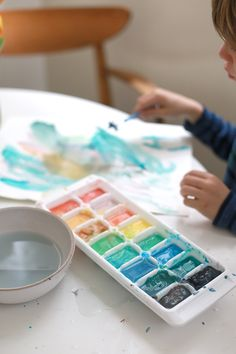 homemade watercolors
