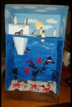 Rate this post Arctic Habitat Diorama grade project Arctic Habitat Diorama grade project Ecosystems Projects, Science Projects, School Projects, Projects For Kids, Art Projects, Kids Crafts, Diy With Kids, Art For Kids, Ocean Diorama
