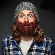 Warm und schick: Dekoraktive Bartmütze für Sie und Ihn.