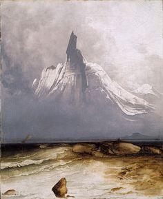 Peder Balke — Hard luck in the land of supernatural beauty. | Trivium Art History