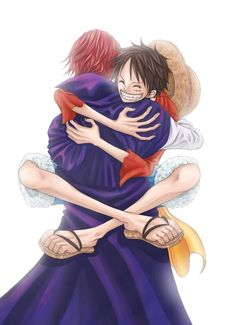 #onepiece #luffy #shanks #strawhat #redhaired