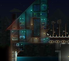 Terraria Bases and Buildings : Photo