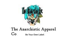 There were some errors in my last booklet post that I was unaware of. This is the new and improved booklet! The Anarchistic Apparel Co. This booklet contains information about The Anarchistic Apparel Co and it's owner,Heather G. - made with simplebooklet.com