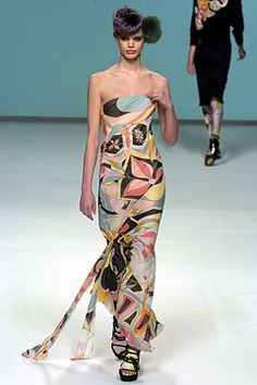 8287f0543b8 Emilio Pucci Fall 2004 Ready-to-Wear Collection - Vogue Floor Length Gown