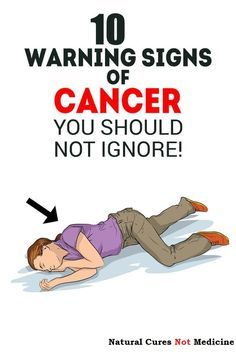 10 Early Warning Sings Of Cancer Most People Ignore