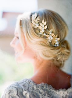 Lovely hair piece.