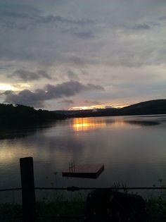 LakeWaramaugCtSunset, via Flickr.