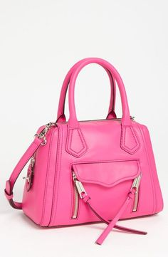 Cute, pink Rebecca Minkoff Satchel. I don't usually do pink but I could rock this.