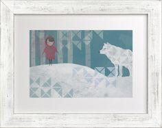 Girl and Wolf milkandmarrow.com