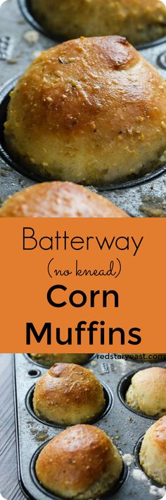 A delicious version of corn bread - pairs perfectly with a bowl of chili or soup! Recipe at redstaryeast.com.