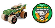 FREE Monster Jam Truck for Kids on 2/27 at Lowe's!