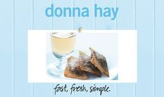 Chocolate And Cinnamon Wontons : Donna Hay Fast Fresh Simple : The Home Channel