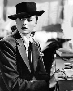 Ingrid Bergman in Notorious. 1946