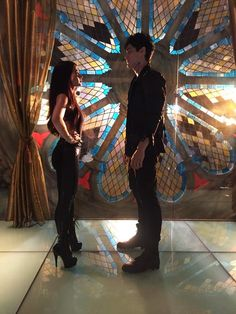 Siblings Isabelle and Alec Lightwood. I will never get over how perfect these two have been cast. I mean this is literally THE book characters in the flesh! :D // SHADOWHUNTERS tv show.