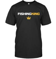 Fishing King Funny Fishing Shirt Gift For Men Women Funny Fishing Shirts, Fishing Humor, King, Mens Tops, T Shirt, Vintage, Women, Fashion, Tee