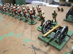 Lead Toy Solider Set used to make these in the basement on the small stove - red hot pipe