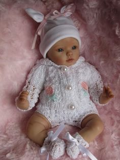 """Ooak Handsculpted Polymer Clay 10"""" Realistic Baby Girl Margherita 3 DAY NO RES   eBay"""